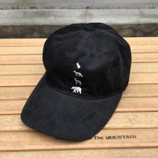 "画像1: 30%OFF / Mountain Research / ""Animal Cap"" Black (1)"