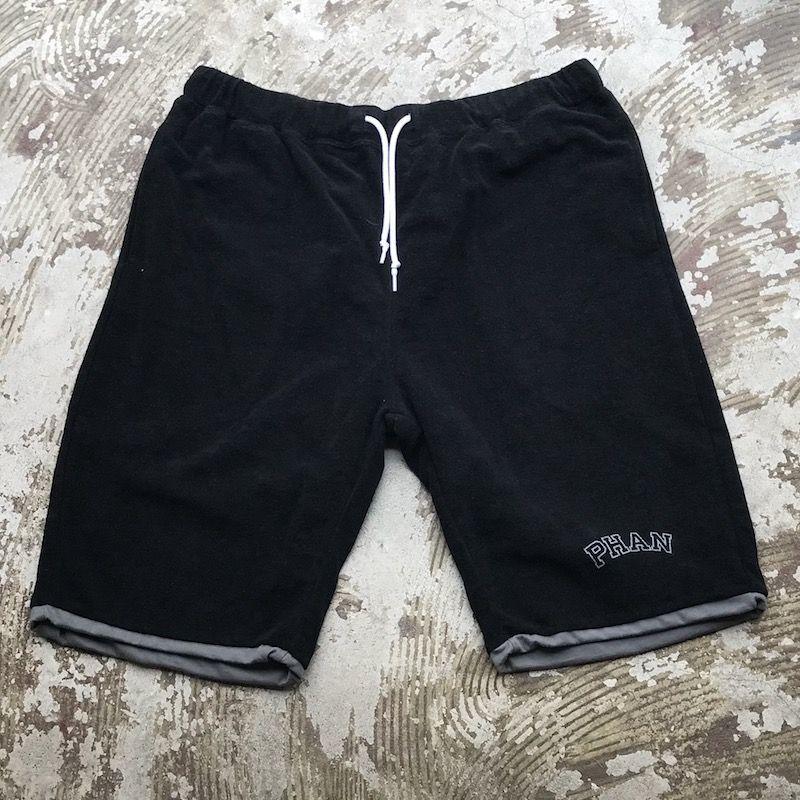 """画像1: 40%OFF / Mountain Research / """"Reversible Shorts"""" Black (1)"""