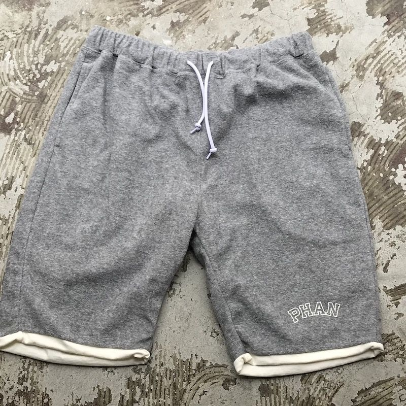 "画像1: 40%OFF / Mountain Research / ""Reversible Shorts"" Gray (1)"